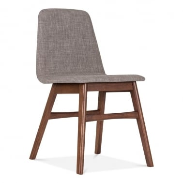 Amara Upholstered Dining Chair - Cool Grey