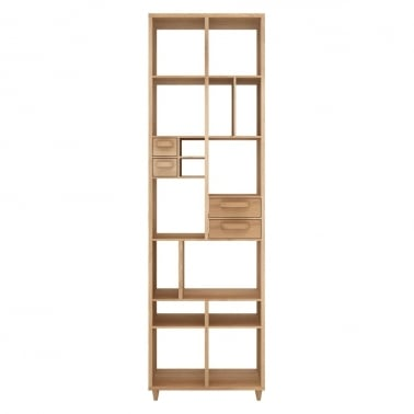 Pirouette Bookrack - 4 Drawers