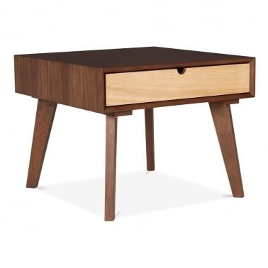 Hallström End Table With Walnut Finish