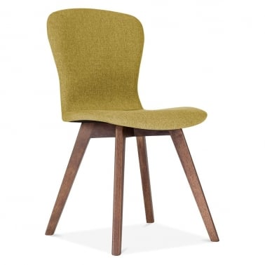 Hudson Upholstered Dining Chair - Olive