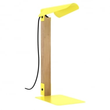 Merlin Table Lamp - Yellow