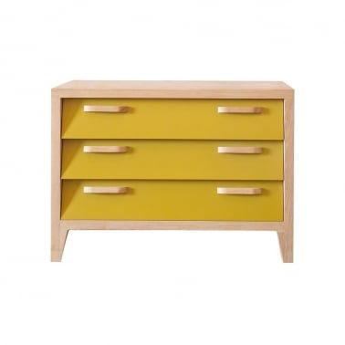 Ekman Chest Of Drawers 3 drawers - Mustard