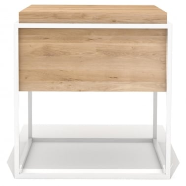 Monolit Side Table - White