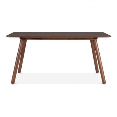 Börje Dining Table With Walnut Finish
