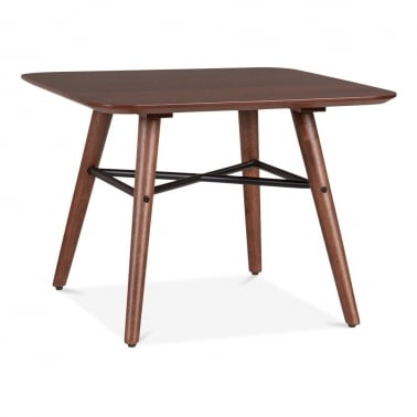 Hayward Side Table With Walnut Finish