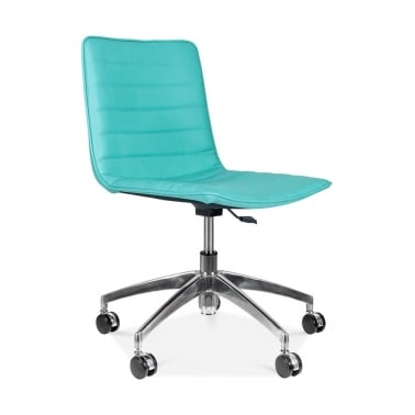 Noble Boardroom Chair - Turquoise