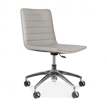 Noble Boardroom Chair - Light Grey