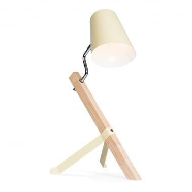 Rocco Desk Lamp - Cream