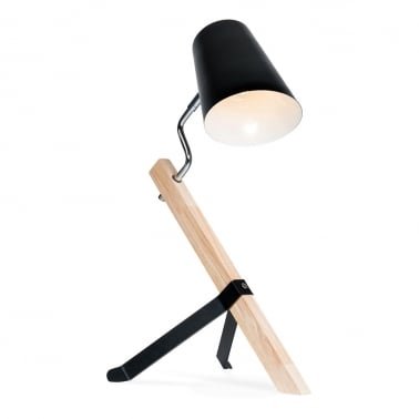 Rocco Desk Lamp - Black