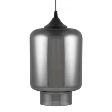 Edison Industrial Mercury Modern Pendant Light - Black