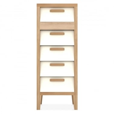 Ekman Chest Of Drawers 5 drawers - Cream