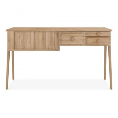 Origami Console Desk 1 sliding door / 3 drawers