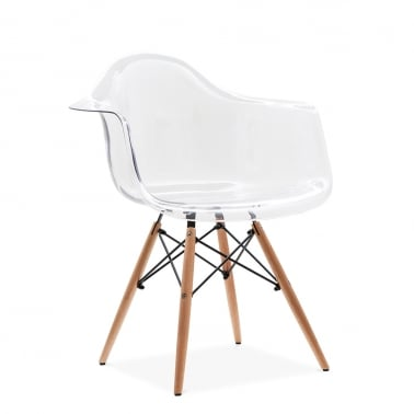 Transparent DAW Style Chair