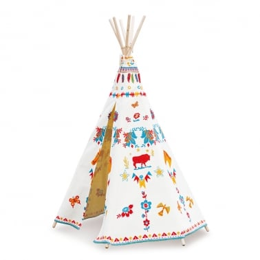 Indian Teepee - Nathalie Lete Design Canvas