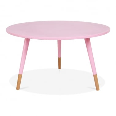 Pop Side Table - Pastel Pink 42cm
