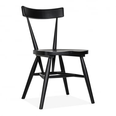 Trafik Stackable Dining Chair - Black