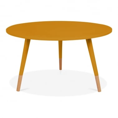 Pop Side Table - Mustard 42cm