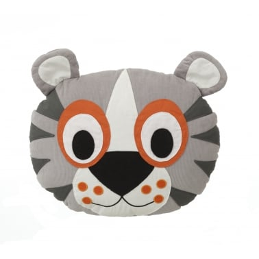 Tiger Head Cushion