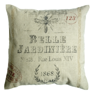 Belle Jardiniere Cushion Cover - Off White