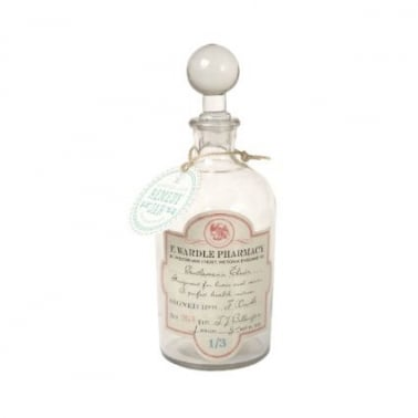 Glass Apothecary Jar Elixir - Transparent