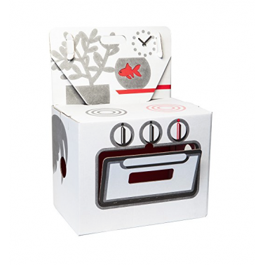 Cardboard Play Oven - White