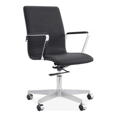 modern executive office chairs. Barclay Office Chair - Black Modern Executive Chairs