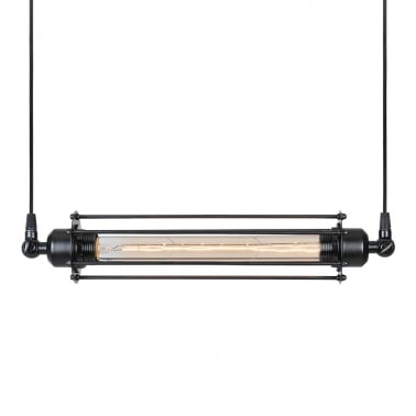 Gatling Double Industrial Ceiling Light