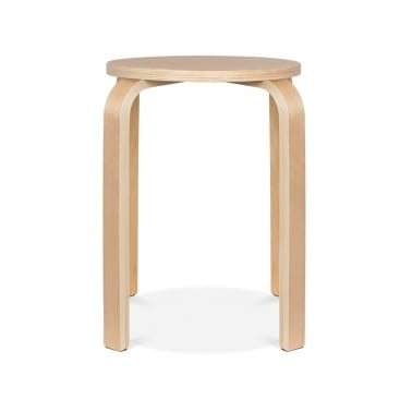 Bella Short Stool - Natural 45cm