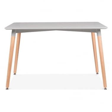 Edelweiss Rectangle Table – Light Grey