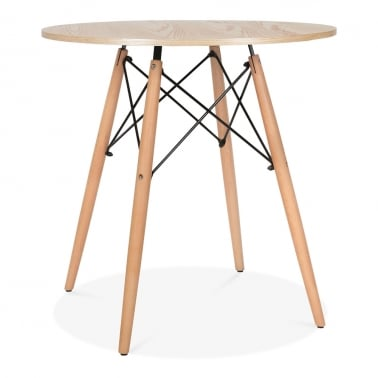 Natural DSW Round Dining Table - Diameter 70cm