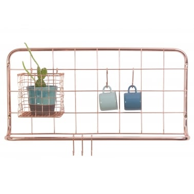 Kitchen Rack Open Grid - Copper