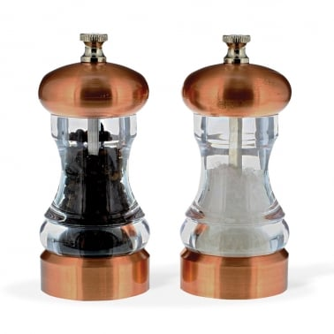 Olsen Copper Salt and Pepper Mill - Set of 2
