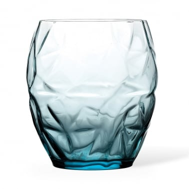 Bella Old Fashioned Glass - Blue 50cl