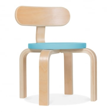Bella Kids Chair - Light Blue