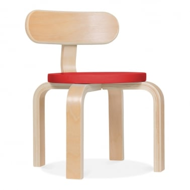Bella Kids Chair - Red