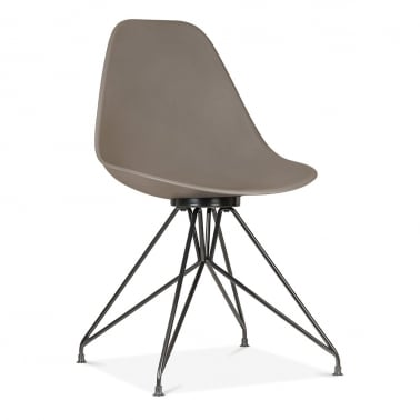 Moda Dining Chair CD1 - Warm Grey