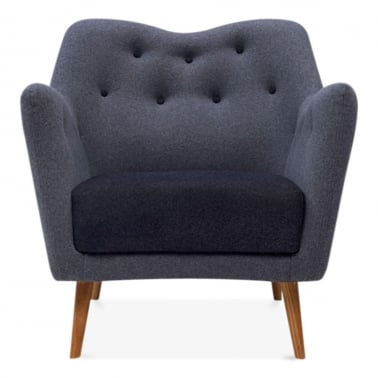 Ruby Armchair - Dark Grey