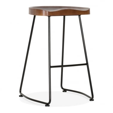 Shoreditch Stool - Black 75cm
