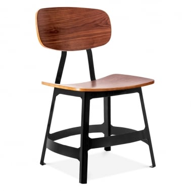 Yardbird Chair with Wood Option - Black