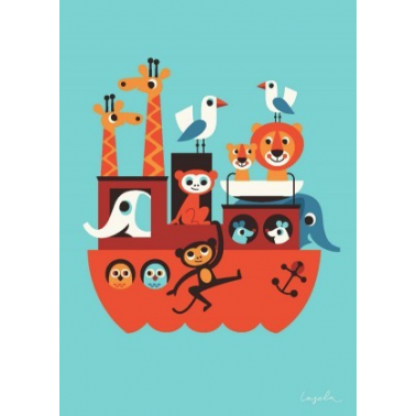 Ingela P Arrhenius Poster Print - The Ark