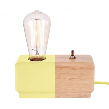 Alma Table Lamp - Lemon / Natural