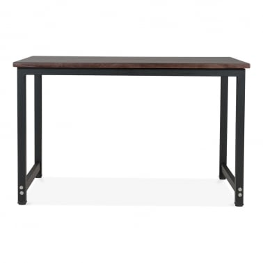 Bastian Dining Table - Gunmetal 60cm