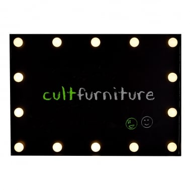 Cinematic LED Memo Chalk Board - White