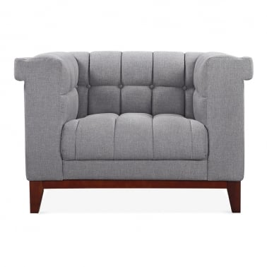Jewel Armchair - Smokey Grey