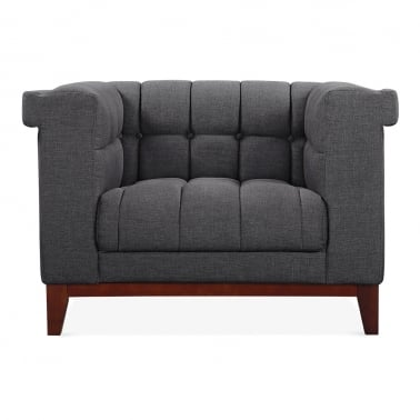 Jewel Armchair - Dark Grey