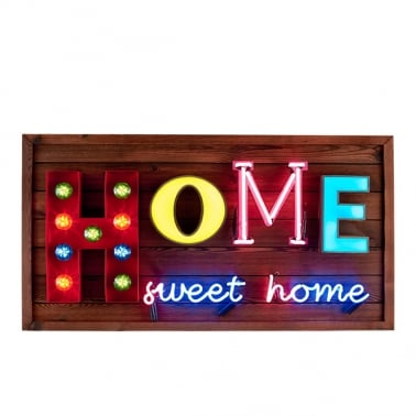 Home Sweet Home LED Sign