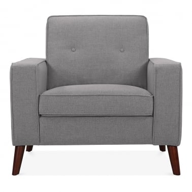 Madison Armchair - Smokey Grey