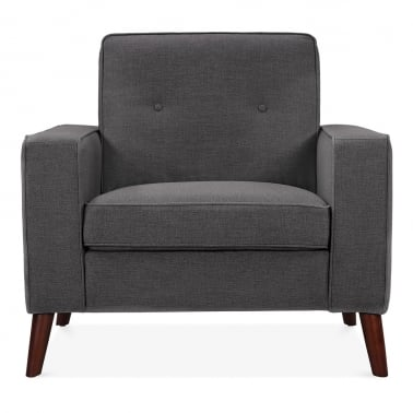 Madison Armchair - Dark Grey