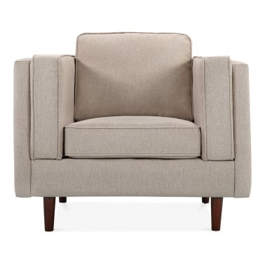 Edgar Armchair - Cream