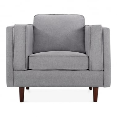 Edgar Armchair - Smokey Grey
